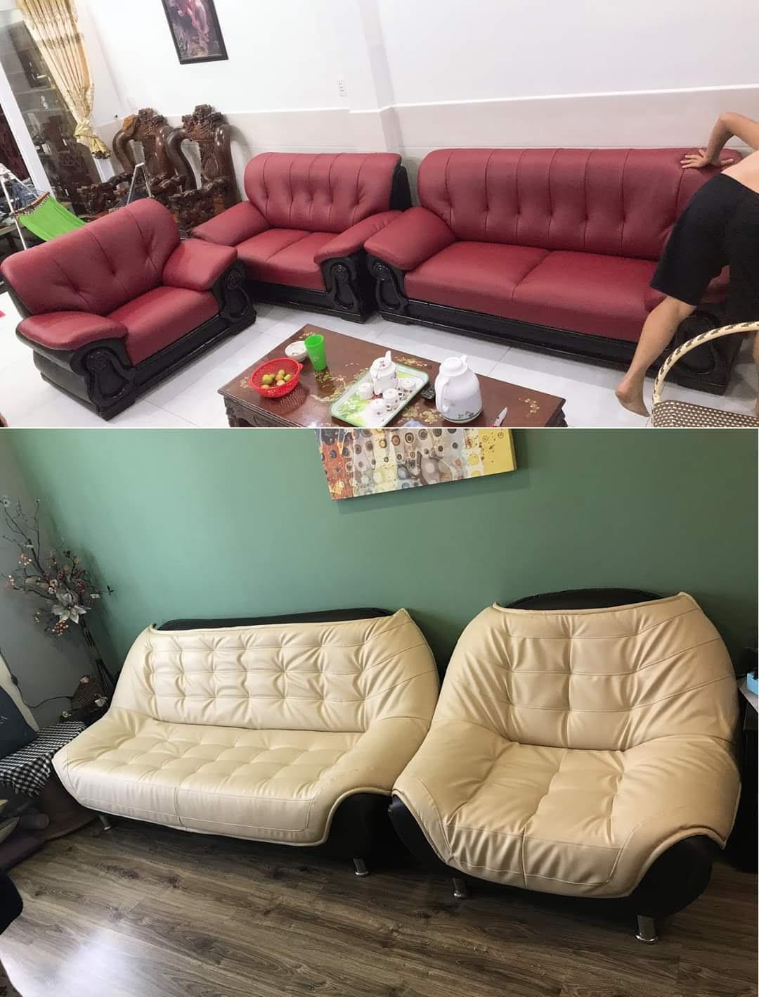 Bọc lại ghế sofa tại Đường Nguyễn Văn Quá, Quận 12